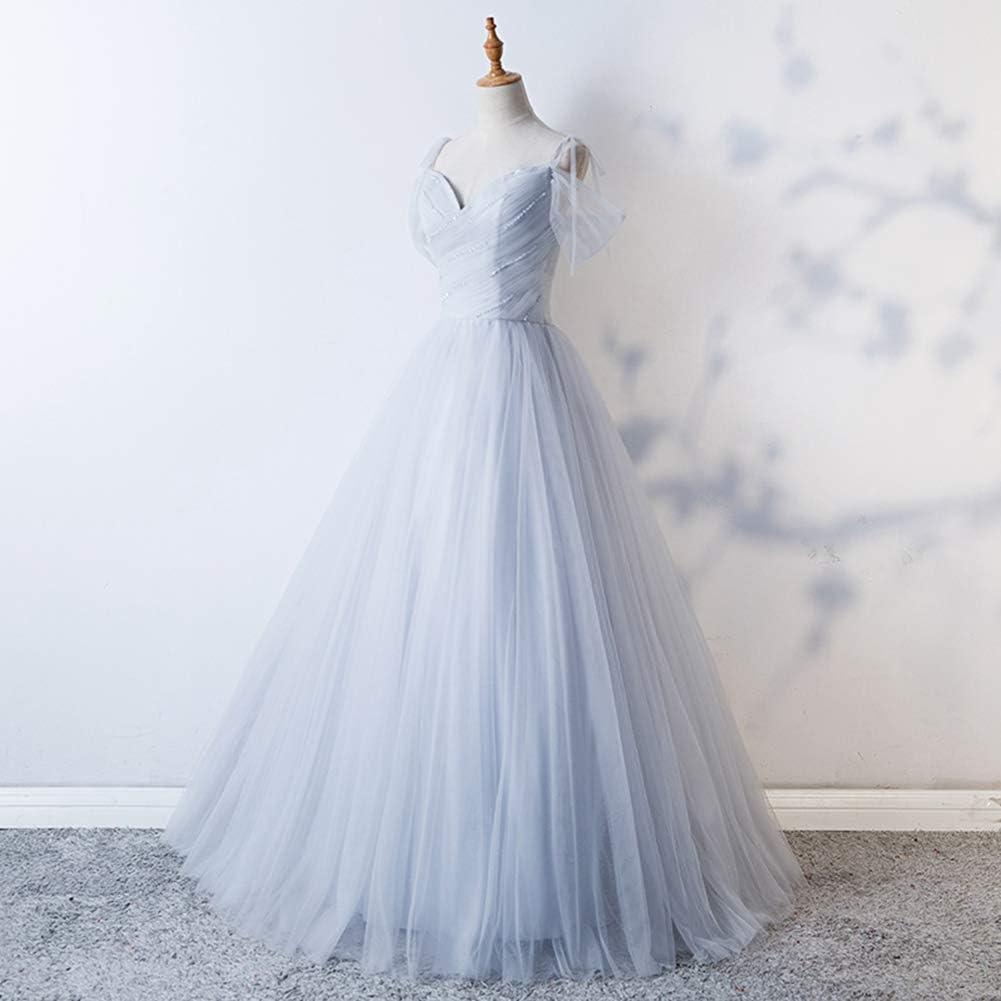 Seasail 2019 Long Dress Tulle with Beading Sweetheart Evening Dresses Vestido De Festa