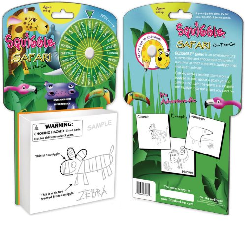 Toysmith On The Go Squiggle Safari Playset