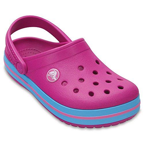 Crocs Kids' Crocband K Clog, Vibrant Violet, 7 M US Toddler Toddler Violet Footwear