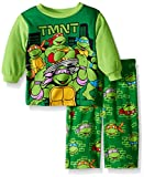 ninja turtles baby boy clothes - Nickelodeon Baby Boys Ninja Turtles 2-Piece Fleece Pajama Set, Sewer Sage, 12M