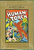 img - for Marvel Master Works Golden Age Human Torch HC Vol 02 book / textbook / text book