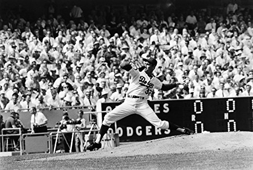 Sandy Koufax (1935- ) Nn Sanford Braun American Baseball Pitcher Pitching For The Los Angeles Dodgers Against The Baltimore Orioles In Game 2 Of The 1966 World Series At Dodger ()