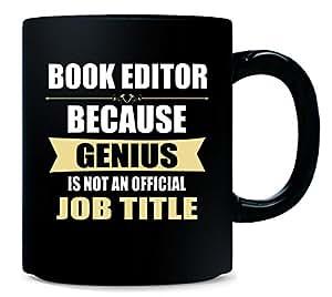 Gift For Genius BOOK EDITOR - Mug