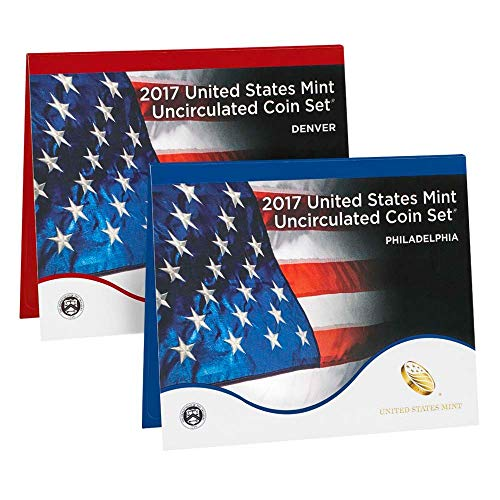 (2017 P&D US Mint 20-Coin Uncirculated Mint Set Original Government Packaging/COA Brilliant Uncirculated)