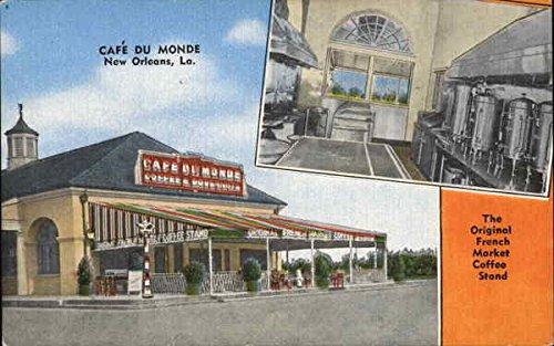 leans, Louisiana Original Vintage Postcard ()