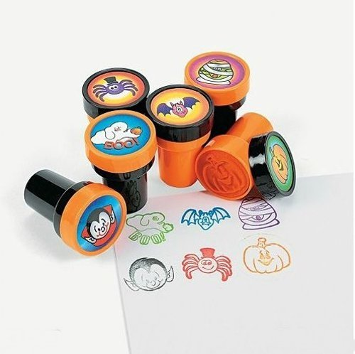 Fun Express Halloween Stamps Science