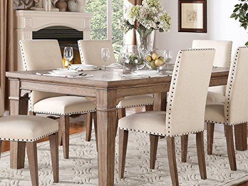 Casual Natural Weather Washed Dining Furniture