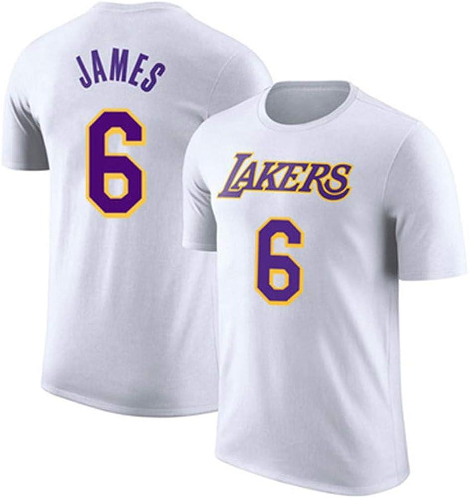 Camiseta de Baloncesto de los Hombres Los Angeles Lakers Lebron ...