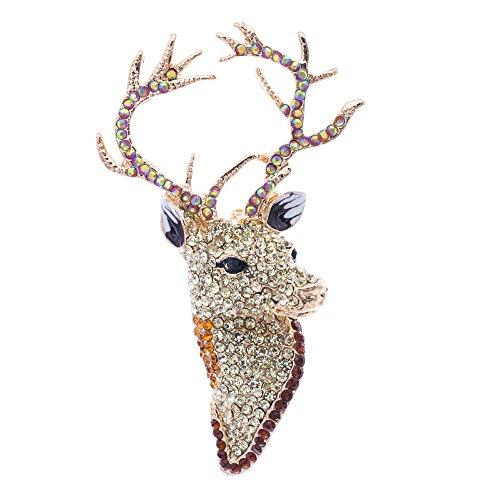 Deer Pin Brooch - 8