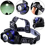 WALLER PAA Hot 4000LM XM-L XML T6 LED Headlamp Headlight Flashlight Head Light Lamp Torch