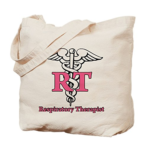 CafePress - Respiratory Therapist - Natural Canvas Tote Bag, Cloth Shopping Bag
