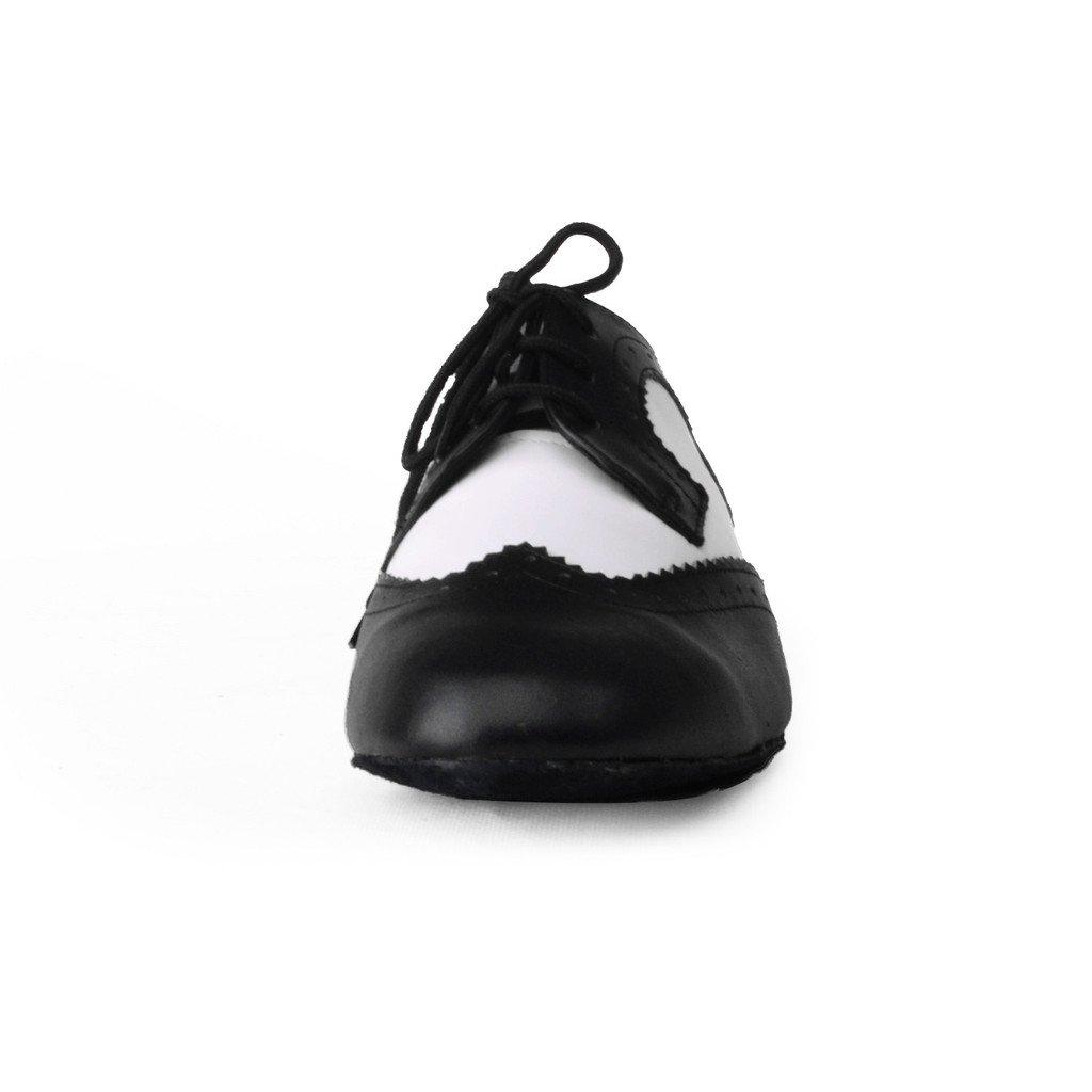 Jig Foo - Zapatillas de Baile Estándar para Hombre, Color Multicolor, Talla 43 EU