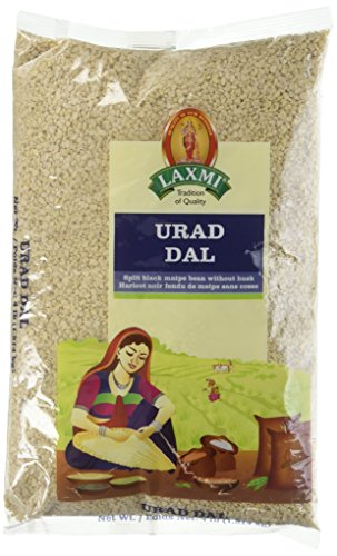 Laxmi, Urad Dal (Split Black Matpa Bean Without Husk), 1.8 Kilogram(kg) by Laxmi