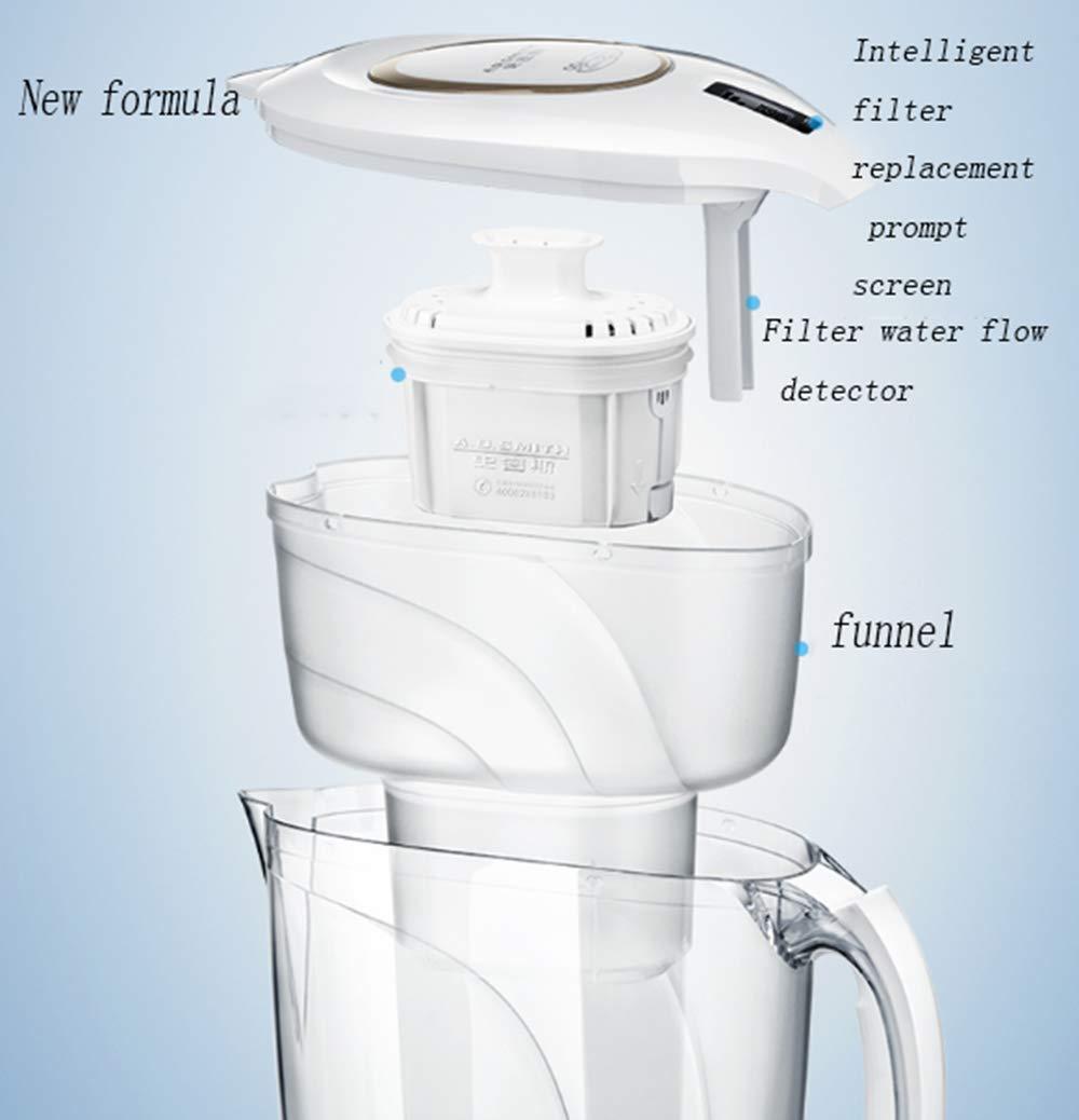 AA-SS Purificador de Agua hogar Bebida Recta Red hervidor Filtro hervidor Cocina Grifo de Agua Filtro: Amazon.es: Hogar