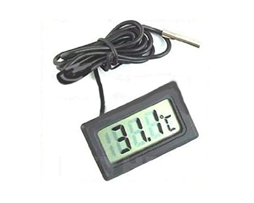 Desconocido Termómetro LCD Digital Monitor de Temperatura con ...