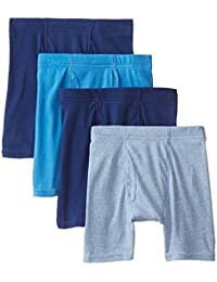 Hanes boys Big Boys 4 Pack Ultimate Comfortsoft Blue Dyed Boxer Brief