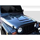 1997-2006 Jeep Wrangler Duraflex Heat Reduction Hood (must be used with highline fenders) - 1 Piece by Duraflex