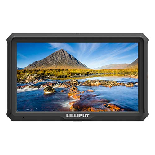 Lilliput A5 5 inch 1920x1080 HD 441ppi IPS DSLR Screen Camera Field Monitor 4K HDMI Input Output Compatible with Canon Nikon A7 A7S III A9 Panasonic GH5 GH5s Zhiyun Crane 2 M TILTA G2X DJI Ronin-S by Lilliput (Image #7)