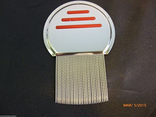 New Rid Head Lice Metal Comb Free Shipping Stainless Steel Long Teeth Terminate Louse and Nit exterminator