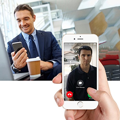 Zmodo Smart Greet Wi-Fi Video Doorbell Cloud Service Available existing wiring