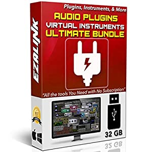 Audio Plugins Bundle for Software VST AU AAX Music Synth Delay Virtual Instruments Windows & MAC for FL Studio, Ableton…