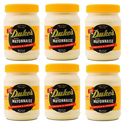 Duke's Real Smooth & Creamy Mayonnaise, 16 oz (Pack of 6) by Duke's Real