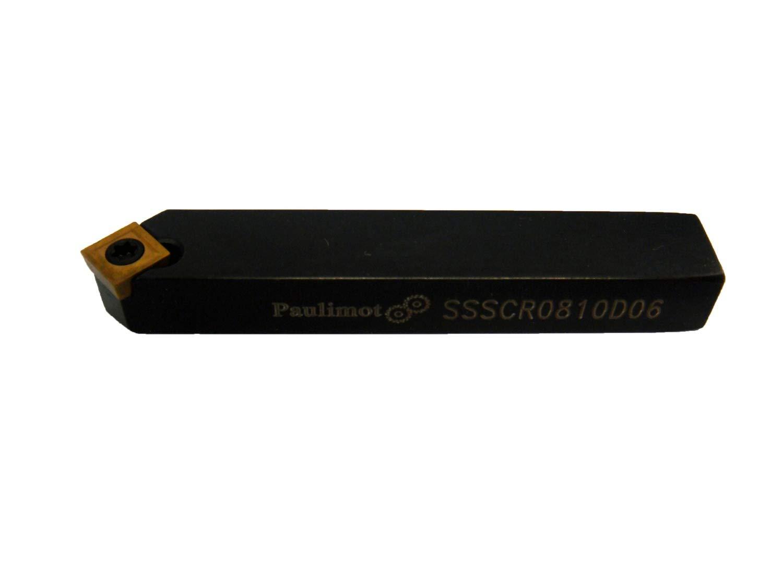 PAULIMOT Drehstahl mit Wendeplatte 8 x 10 mm SSSCR0810D06