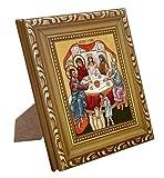 FENGMICON Wedding at Cana Religious Gift Framed Catholic Icon