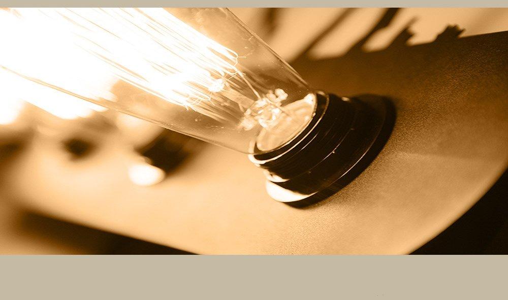 Lámpara De Pared De Hierro Retro Industrial E27 Portalámparas, Animal, Paisaje Art Deco Adecuado para El Dormitorio, Sala De Estar, Restaurante, Pasillo, ...