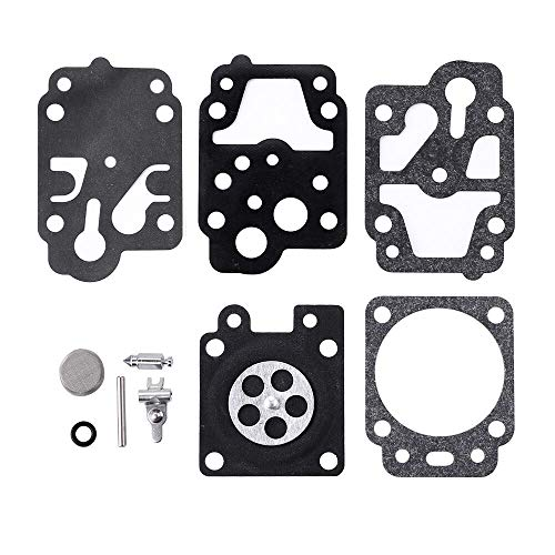 - HIPA Carburetor Repair Kit Gasket Diaphragm # K10-WYC for WYC Series Carburetors