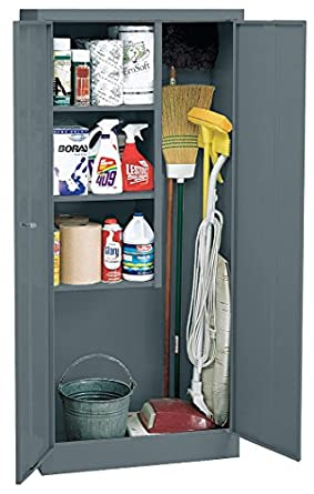 Sandusky Lee Vfc1301566 02 Janitorial Supply Cabinet 30 W X 15 D