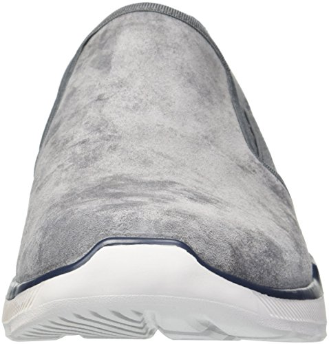 Uomo Oscuro 0 Substic 3 Equalizer Infilare Skechers Gris Sneaker fq7aaY