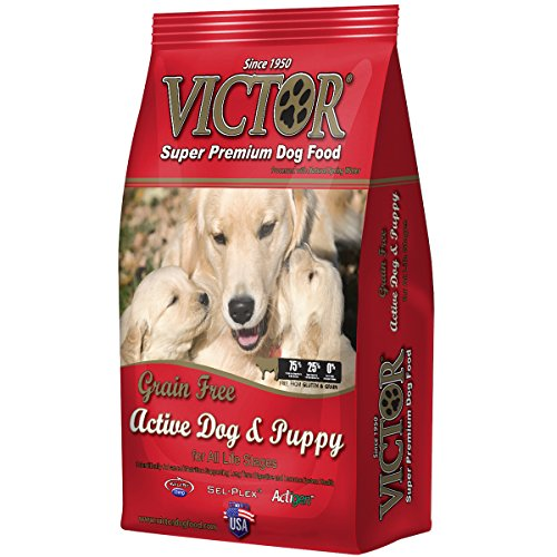 Victor Active Dog & Puppy Formula Grain-Free Dry Dog Food, 30-Pound