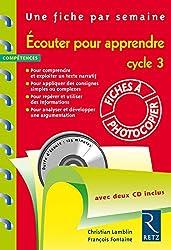 Écouter pour apprendre (+ 2 CD audio)