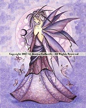 - Lavender Moon Jessica Galbreth Ceramic Sensations Tile