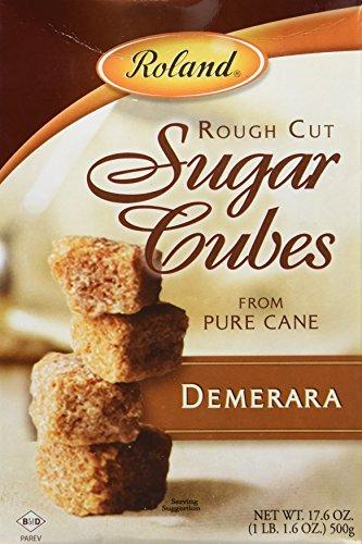 Roland Rough Demerara Sugar Cubes