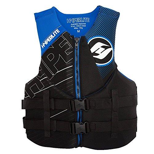 Hyperlite 2017 Indy Big & Tall (Black/Blue) Neo Life Jacket-XXXLarge