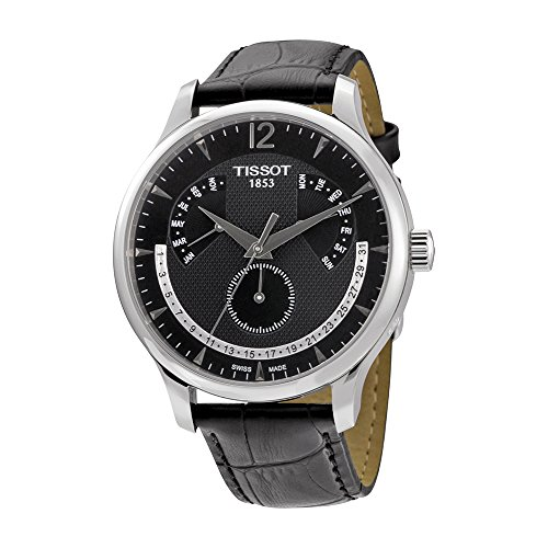 Tissot-Mens-T0636371605700-Black-Dial-Watch