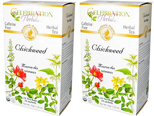 Celebration Herbals Chickweed Tea Bags product image