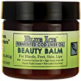 Blue Ice Fermented Cod Liver Oil Beauty Balm, 1.75 oz Jar