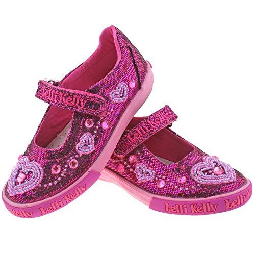 30 Ava Kelly 12 LK3020 Shoes GW01 Glitter UK Dolly Lelli Purple wZFqUxB