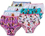 Disney Big Girls' Elena of Avalor 7-Pack Panty, Asst, 6