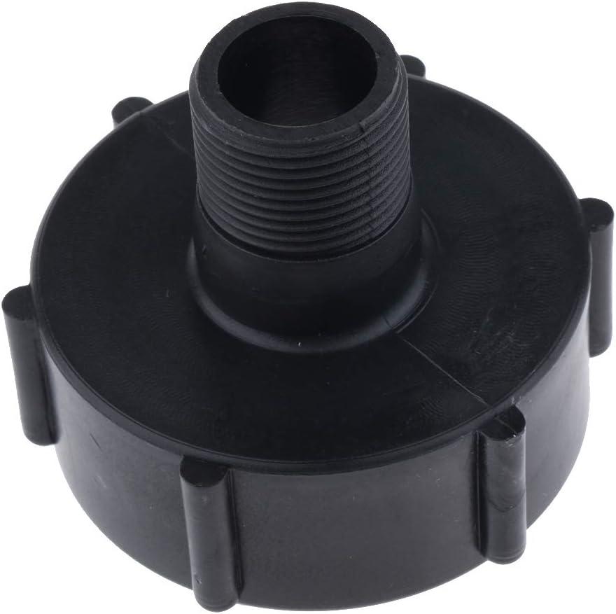 unknow 2 Inch IBC Tote Tank Adapter Fine Thread to Coarse Thread Heavy Duty 2 Pcs