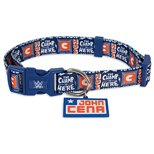 WWE 5/8 X 8-14″ John Cena Adjustable Dog Collar