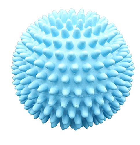 - Latex Spiky Ball Dog Toy (Blue)