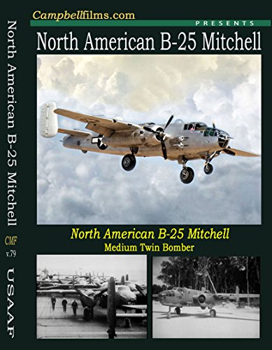 B-25 Mitchell Bomber WW2 Films Pacific War old Films DVD North American Medium Bomber ()