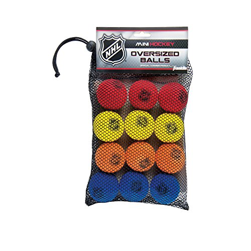 Franklin Sports NHL Foam Mini Hockey Balls (Pack of 12) (Mini Hockey Pucks)