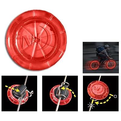 Nite Ize Nse2-03-10 Red See'Em Mini Spoke Lights