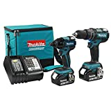 Makita 2 Piece Brushless Cordless Hammer Impact Combo Kit DLX2002SX