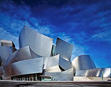 Amazon Com Walt Disney Concert Hall Los Angeles Poster Art Photo